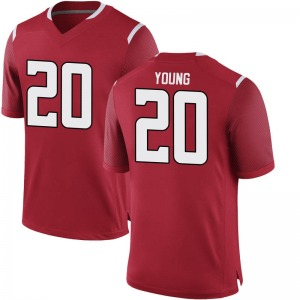 Avery Young Nike Rutgers Scarlet Knights Youth Game Football College Jersey - Scarlet