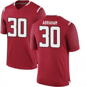 Kessawn Abraham Nike Rutgers Scarlet Knights Men's Replica Football College Jersey - Scarlet