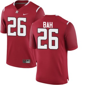 Ahmed Bah Nike Rutgers Scarlet Knights Youth Replica Team Color Jersey  -  Scarlet