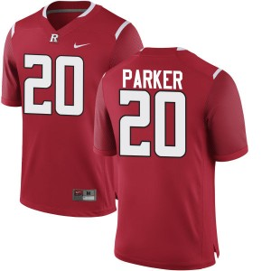 Marcus Parker Nike Rutgers Scarlet Knights Youth Replica Team Color Jersey  -  Scarlet